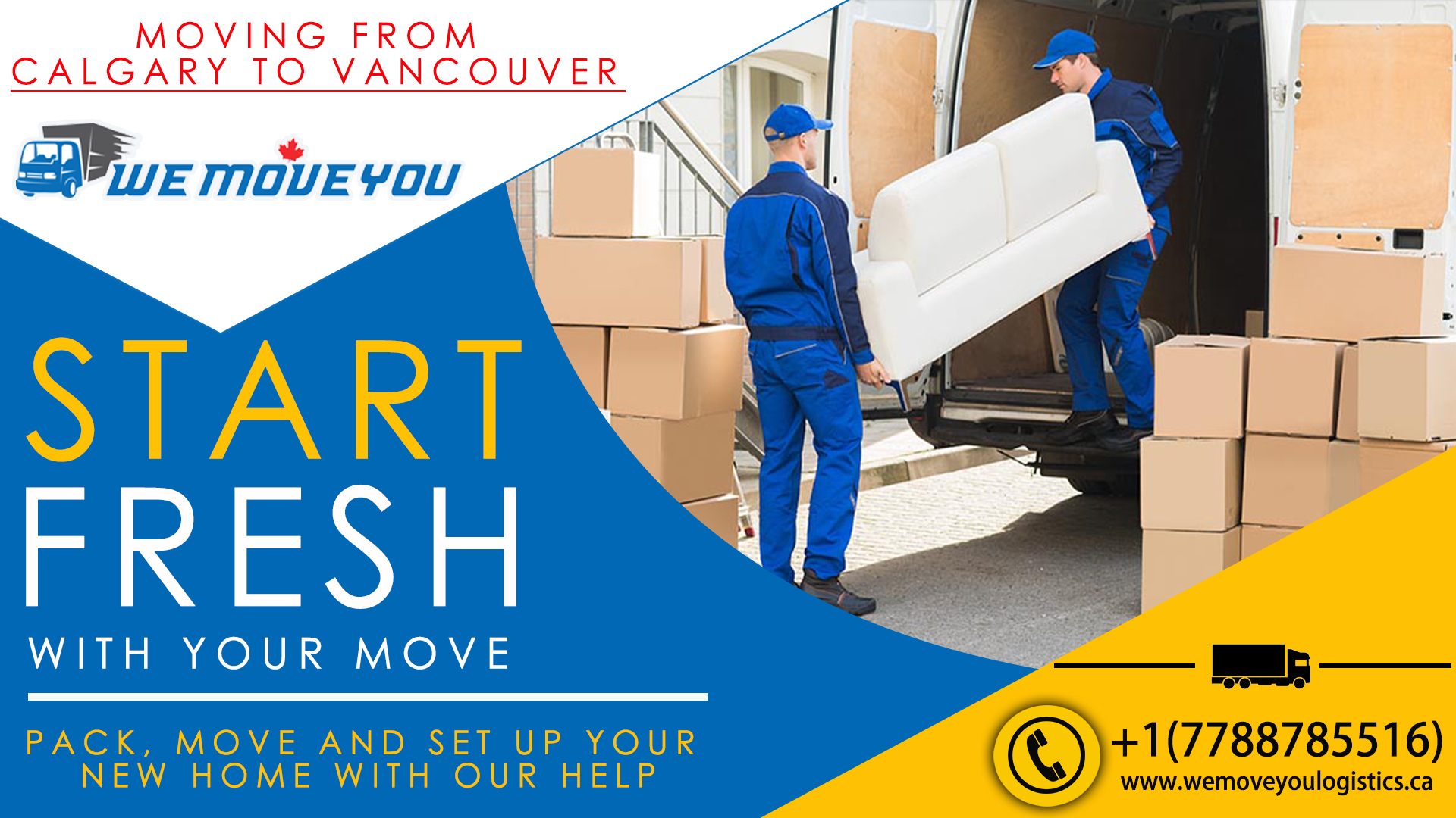 Moving from Calgary to Vancouver