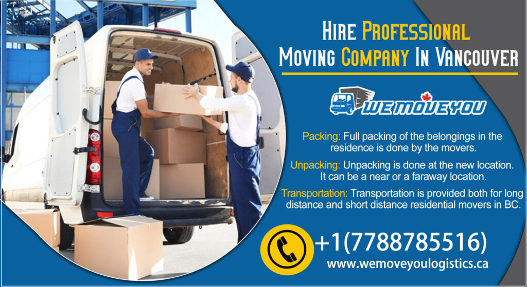 Moving Companies Vancouver to Calgary