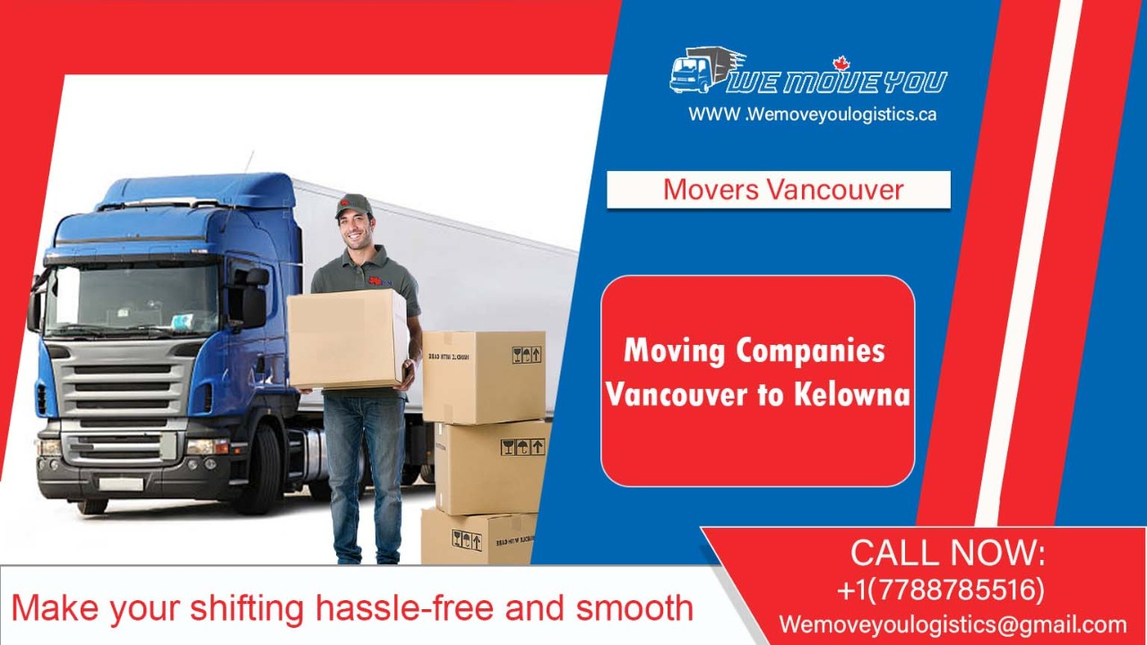 Moving Companies Vancouver to Kelowna