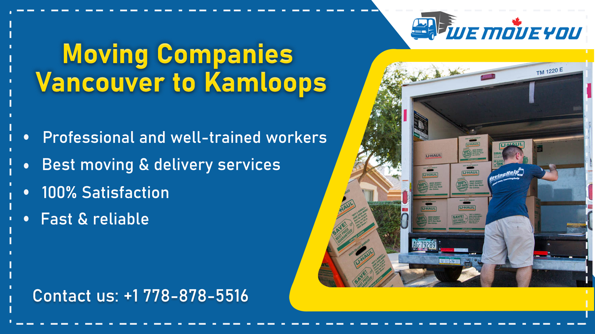 Moving Companies Vancouver to Kamloops