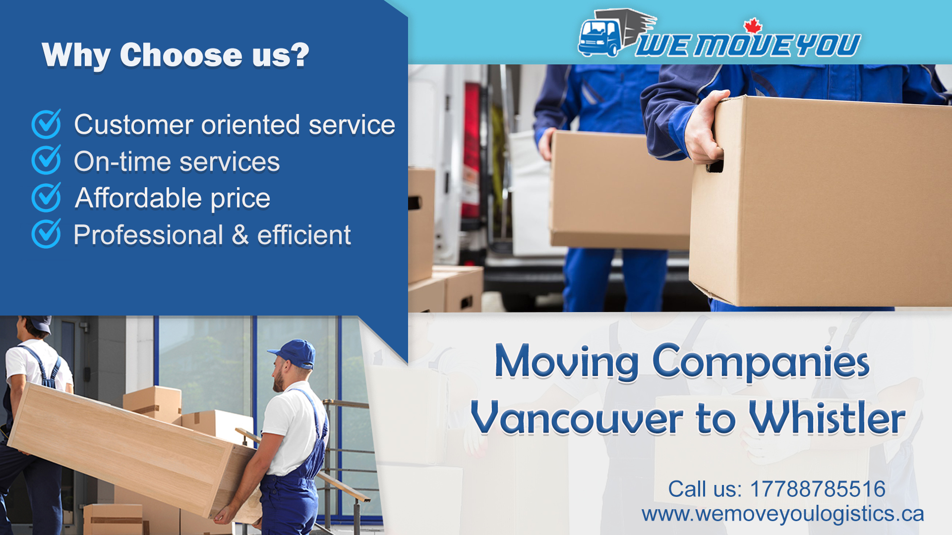 Moving Companies Vancouver to Whistler