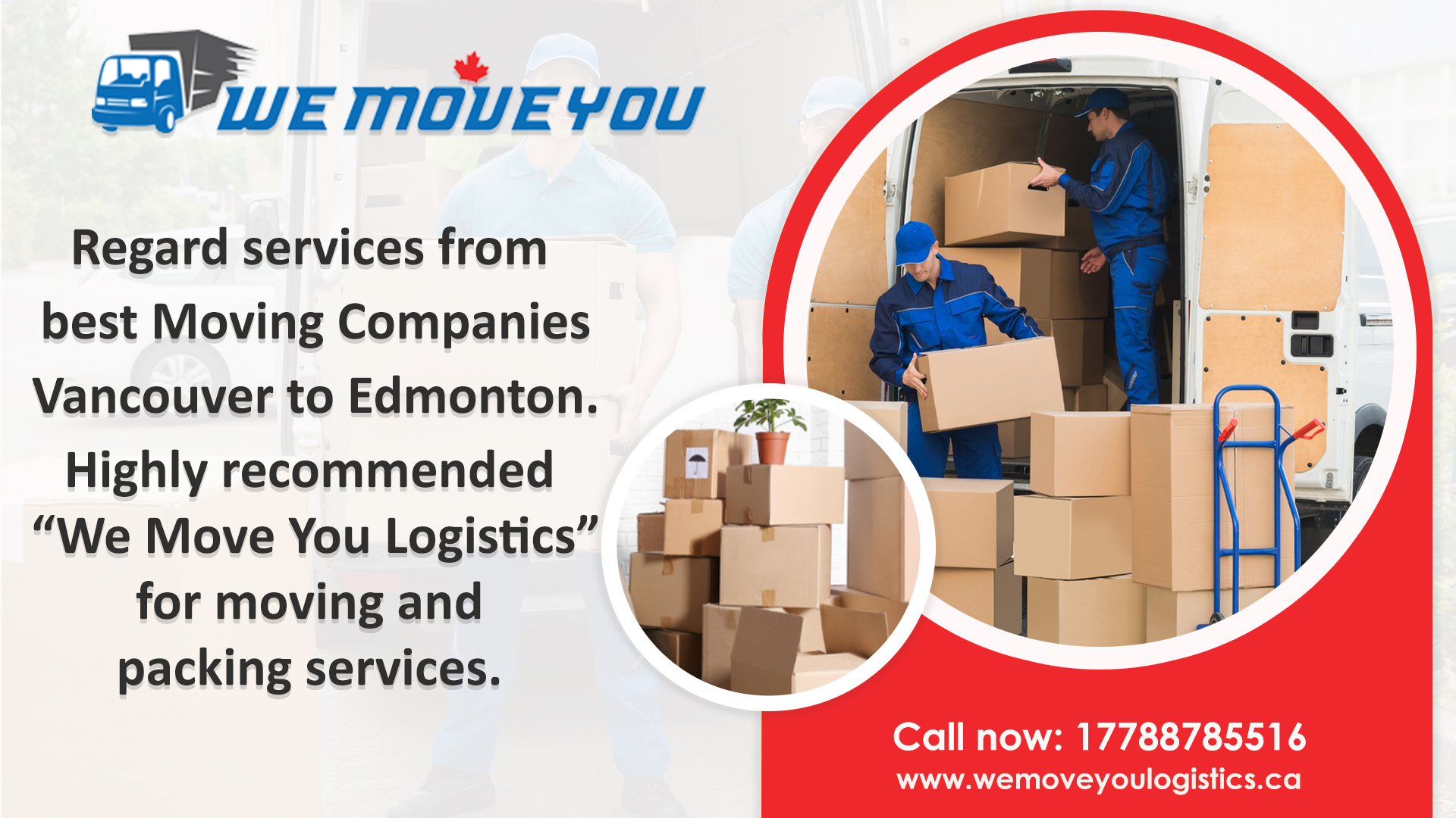 Moving Companies Vancouver to Edmonton